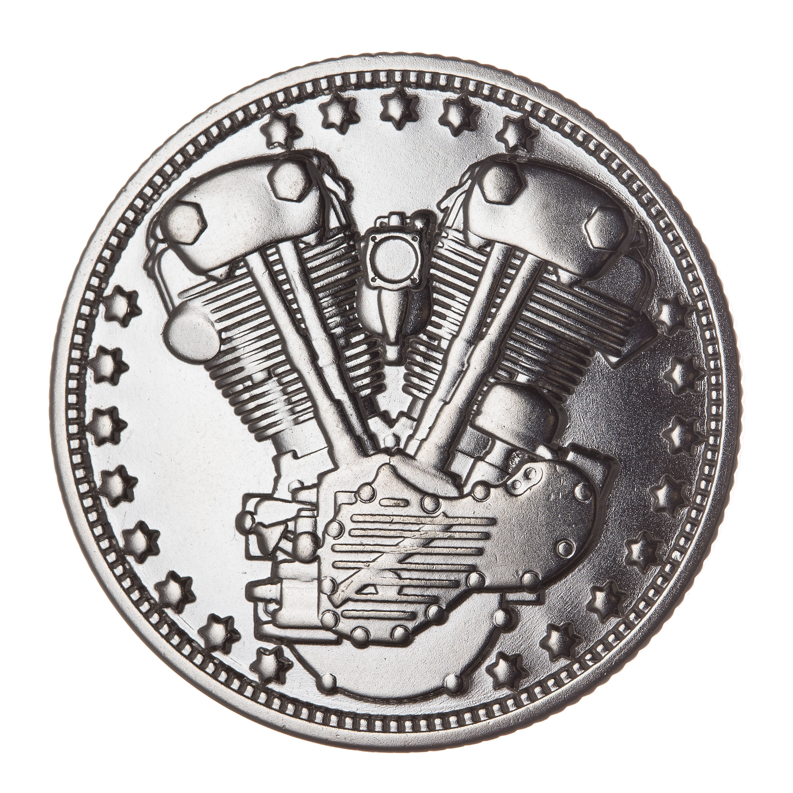 KNUCKLE COIN (SILVER)