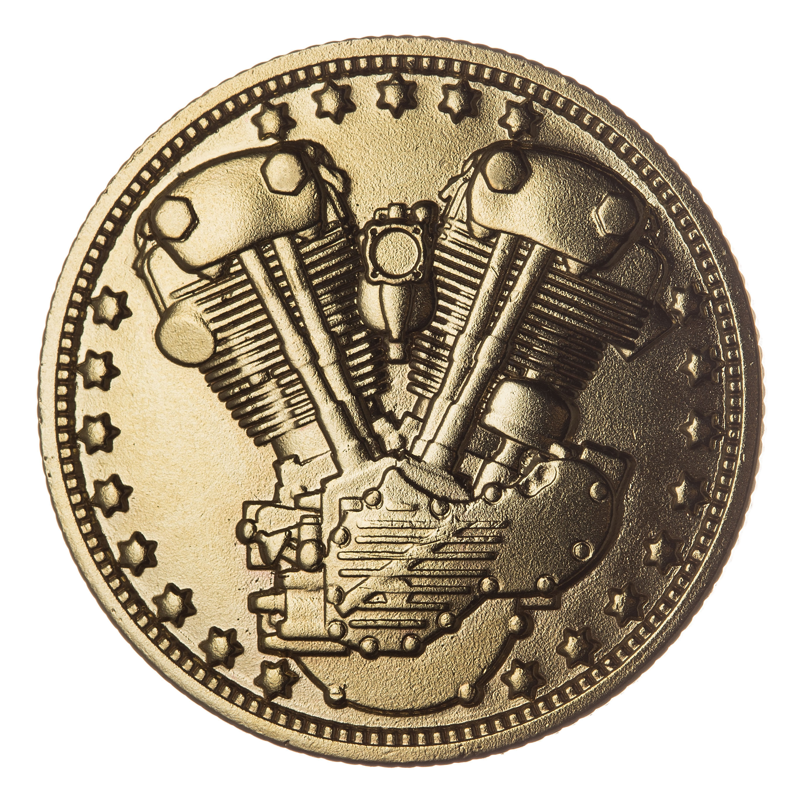 KNUCKLE COIN (BRASS)