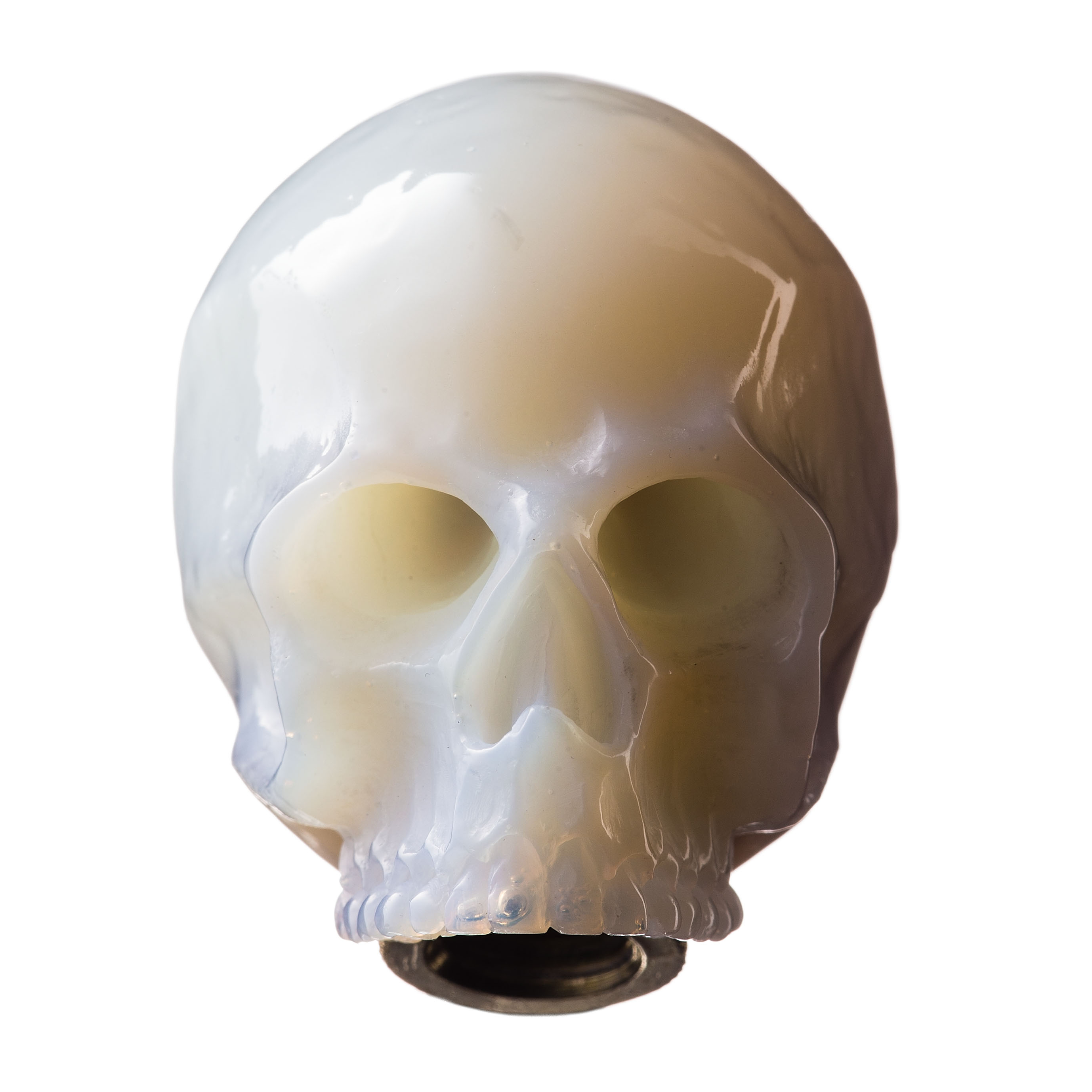 SKULL SHIFT KNOB (WHITE)