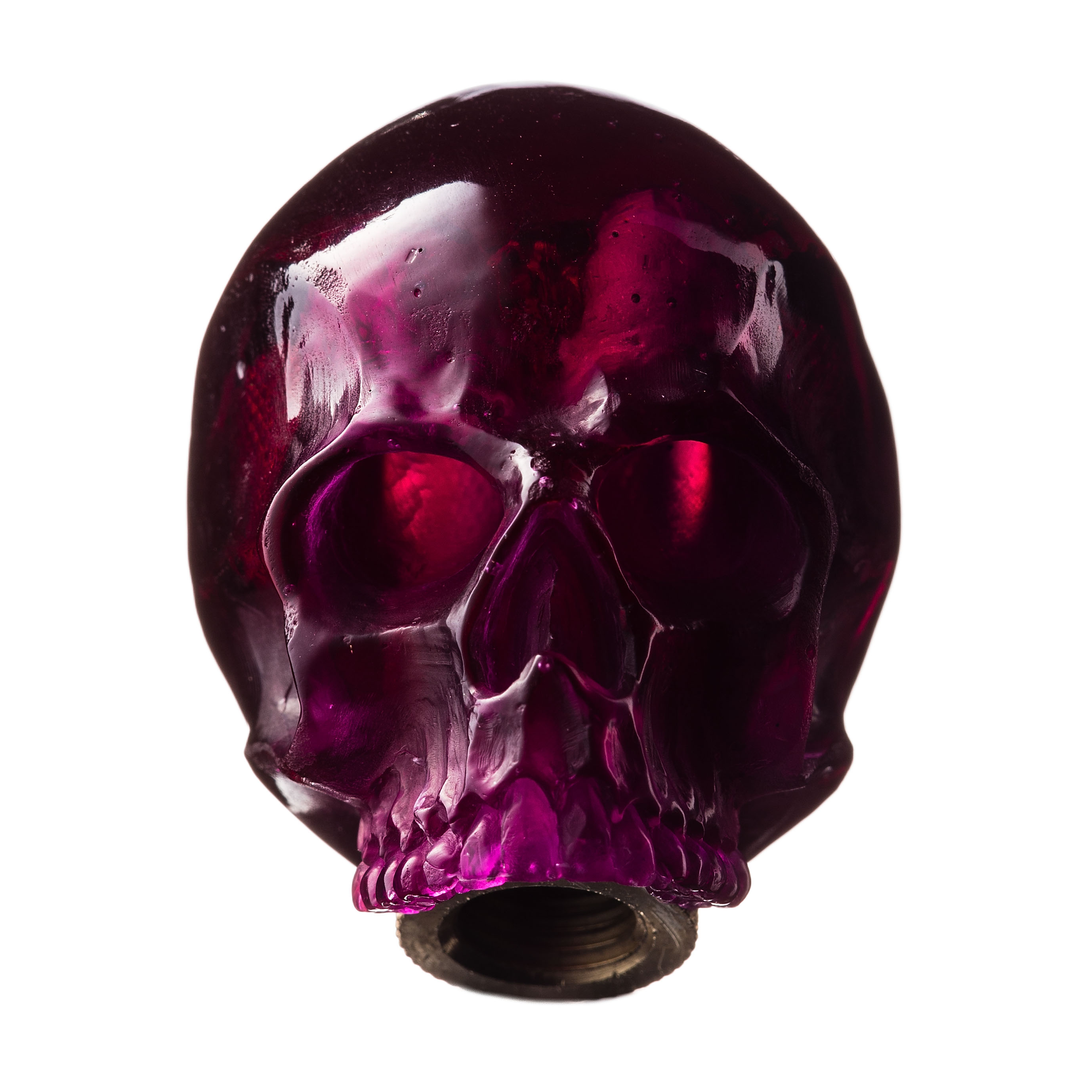 SKULL SHIFT KNOB (PURPLE)