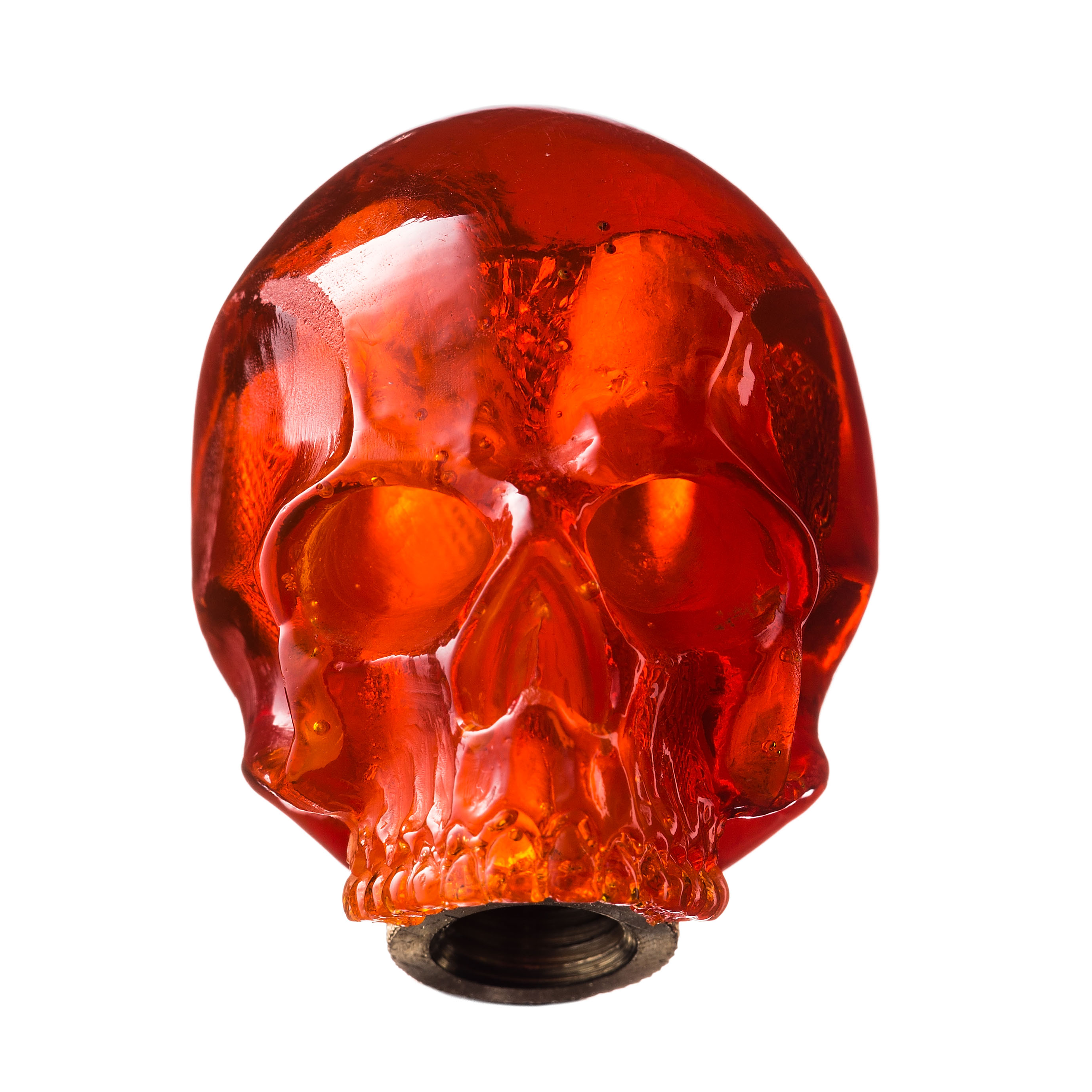 SKULL SHIFT KNOB (ORANGE)