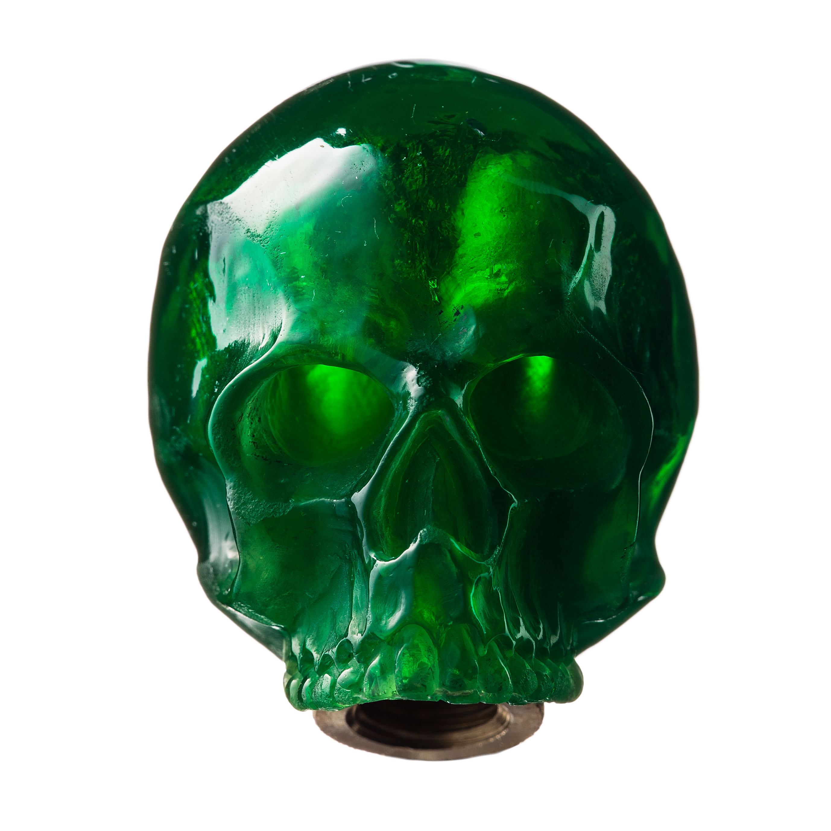 SKULL SHIFT KNOB (GREEN)