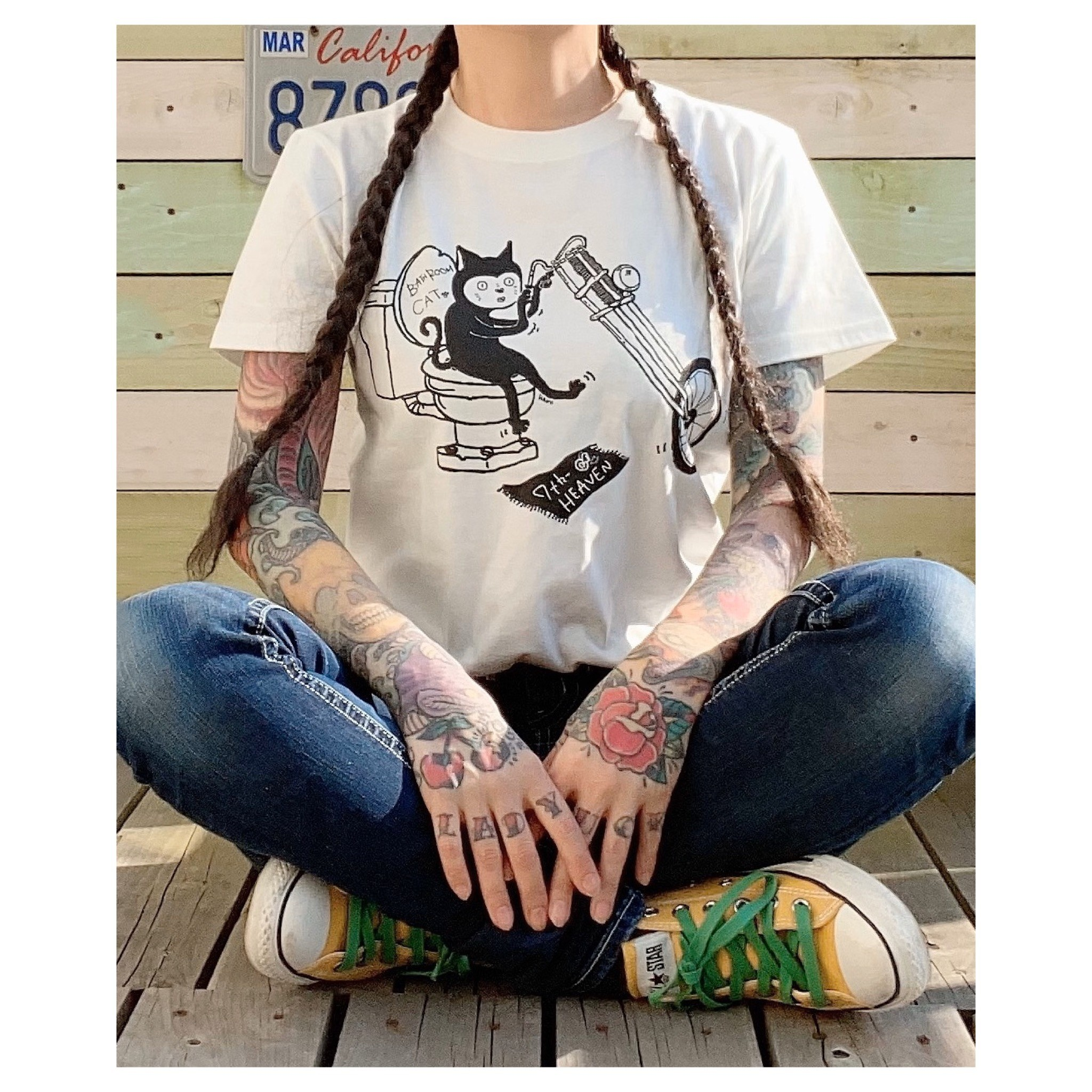 BathroomCAT T-shirt